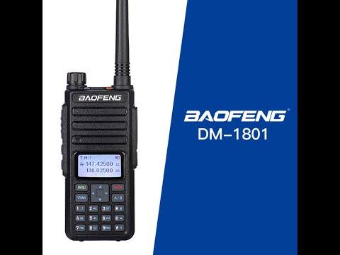 Обзор, прошивка и программирование рации Baofeng DM-1801, DM-1701, DM-1702, DM-5R самодельный кабель