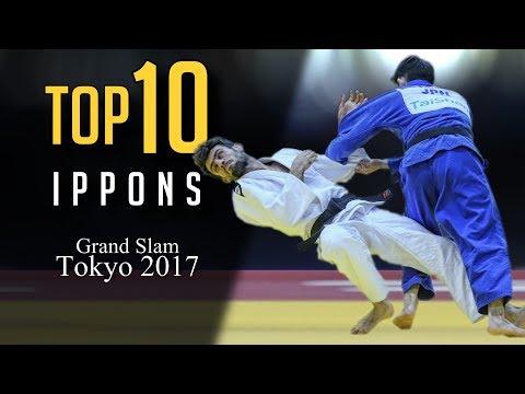 TOP 10 IPPONS  Grand Slam Tokyo 2017 柔道