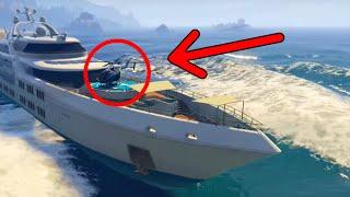 GTA 5 Online - Drive The Super Yacht, Secret Cars & More! (GTA 5 DLC Hidden & Secret Features)