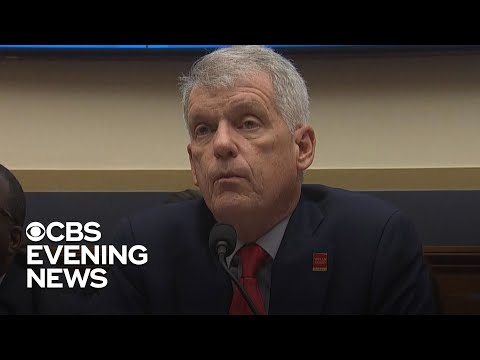 Wells Fargo CEO grilled by legislators during hearing