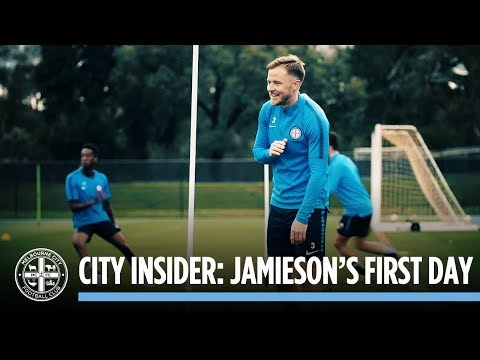Jamieson's First Day: CITY INSIDER
