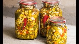 ترشی مخلوط  Mixed Vegetable Pickles
