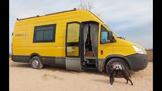 Iveco Daily самодельный автодом из Новосибирска