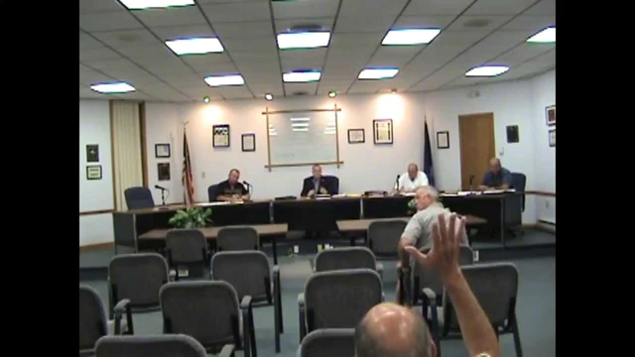 Rouses Point Village Board Meeting one  9-8-15