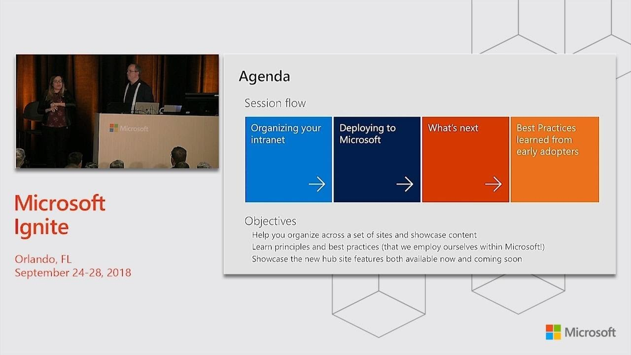 Intranet Best Practices 2019 Learn about SharePoint Hub Sites & Other Best Practices for an