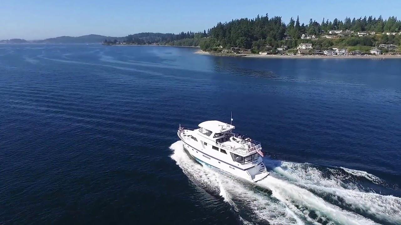 66 Grand Alaskan Motor Yacht YouTube