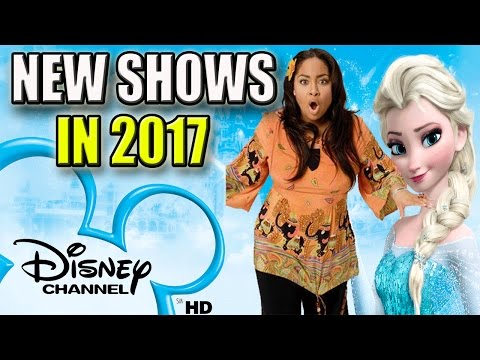 10 New Disney Channel Shows Coming In 2017 | That