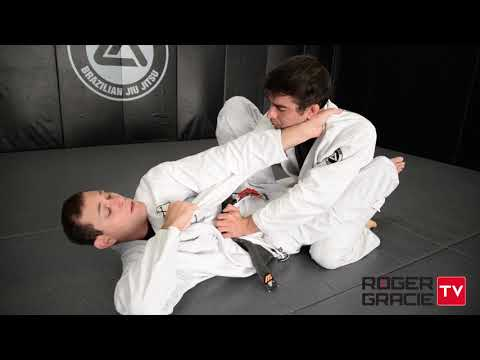 Closed Guard Arm Lock Finish Details