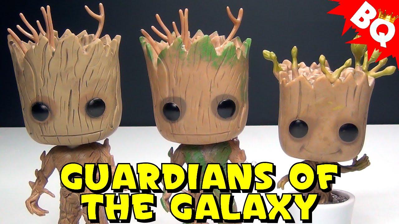 Groot Amp Dancing Groot Funko Pop Guardians Of The Galaxy