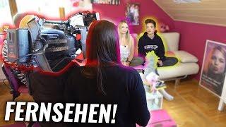 Mein ERSTES Tv INTERVIEW! (peinlich!)
