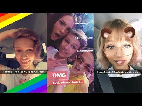 Grace VanderWaal  Best Snapchat Moments