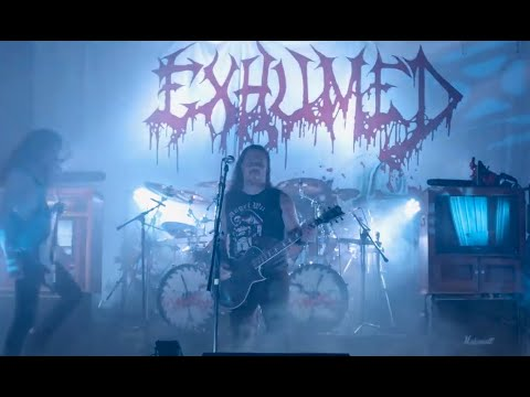 "Exhumed release ""Waxwork"" live from 'Goreified at the Grind Guignol' livestream"
