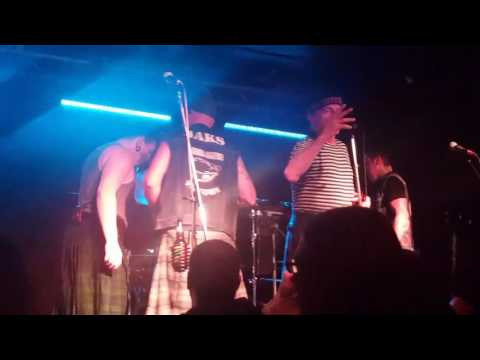 The Real Mckenzies - Sailor Man (Turbonegro cover live at the Windsor in Winnipeg 03/23/17)