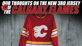 Our Thoughts on the New Calgary Flames 3rd Jersey