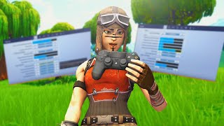These Are The BEST Controller Settings In Season 7 Fortnite... (PS4/Xbox)(7.40)