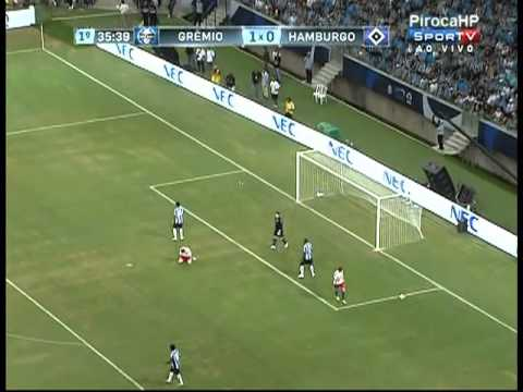 Grêmio Vs Hamburgo Completo Inauguração Arena do Grêmio