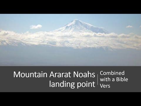 Mountain Ararat  Noahs landing point