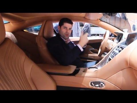 Aston Martin DB11 – Interior Design