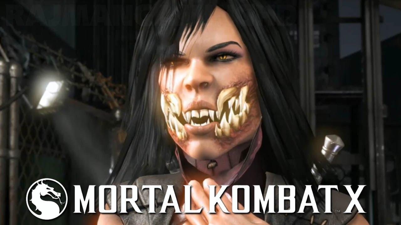 Mortal Kombat X Mileena All Variations Move Set 60fps 1080p