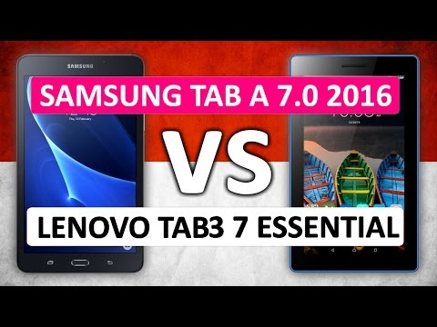 Download 📷 Samsung Galaxy Tab A 7.0 2016 VS Lenovo Tab3 7 Essential Performance Comparison Images