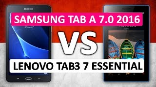 📷 Samsung Galaxy Tab A 7.0 2016 VS Lenovo Tab3 7 Essential Performance Comparison