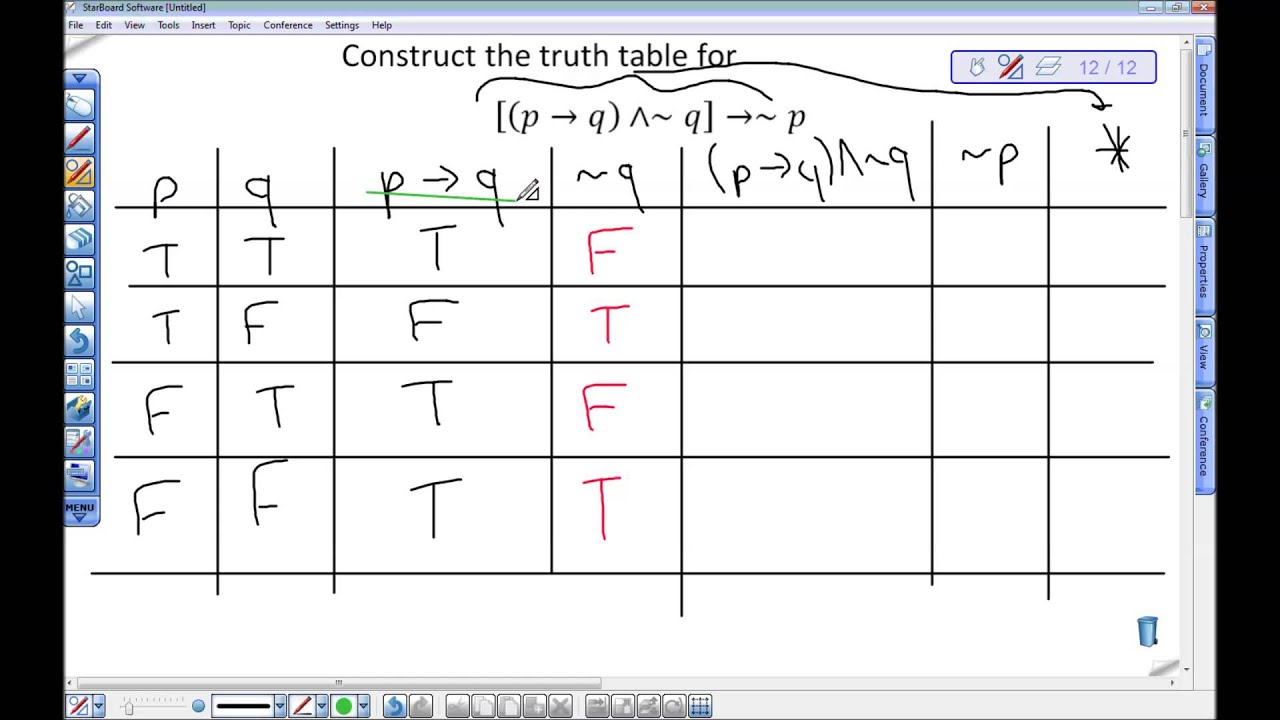 Truth tables examples brokeasshome truth table example with tautology and contradiction definitions biocorpaavc