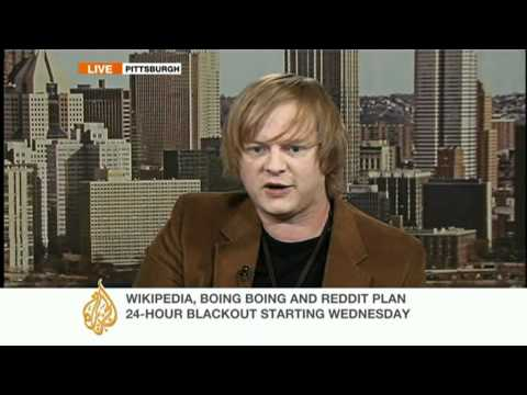 Boing Boing editor speaks to Al Jazeera about SOPA and PIPA Mp3