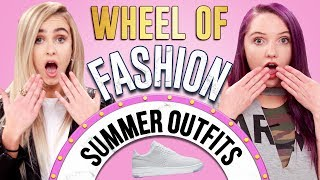SNEAKERS CHALLENGE?! Wheel of Fashion w/ Quincie & Candice