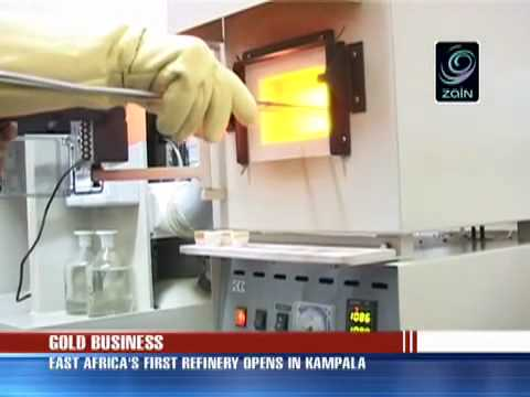 EAST AFRICA'S FIRST GOLD REFINERY