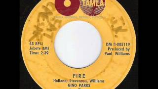 Gino Parks & The Love-Tones - Fire (Tamla 54066) 1962