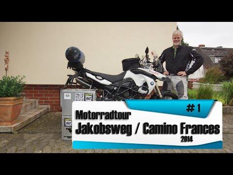 3. [Motorradtour] / Endurotour 2014. Tag 1/2 [Nordspanien Jakobsweg (Camino Frances)]