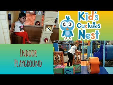 KID'S CUCKOOS NEST INDOOR PLAYGROUND WITH CHANTELLE & HALLIE