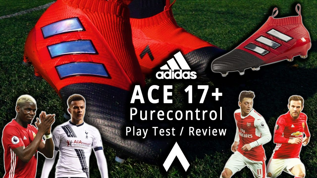 02115f614aa0 adidas ACE 17+ PURECONTROL Red Limit Review   Play Test - YouTube