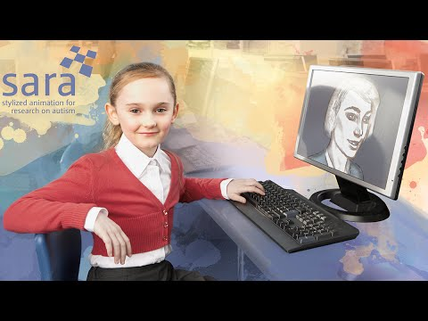 SARA – Stylized Animation for Research on Autism