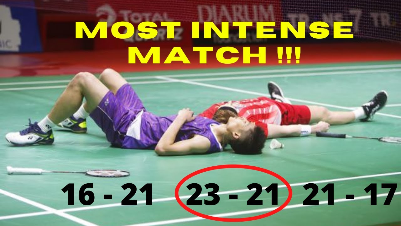 Most Intense Match ! Anthony Ginting Vs Chou Tien Chen - Badminton Trichshot 2021