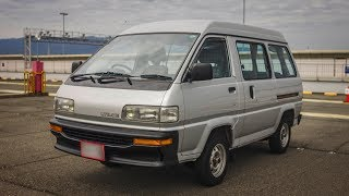 1989 Toyota LiteAce Space Casual - Manual gearbox - Walk-around and test drive