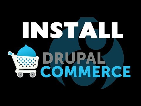 How to install drupal8 COMMERCE the easy way with Ludwig not composer