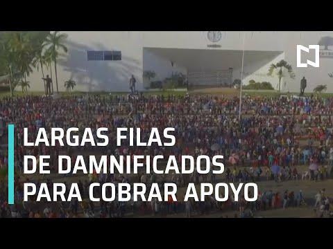 Damnificados por lluvias en Tabasco denuncian que los han dejado fuera de los censos - En Punto
