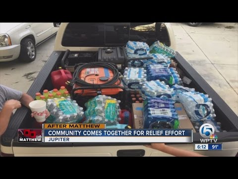 Jupiter friends headed to the Bahamas with supplies after Hurricane Matthew