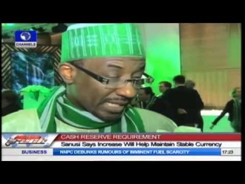 Increase In Cash Reserve Will Help Maintain Stable Currency -- Sanusi