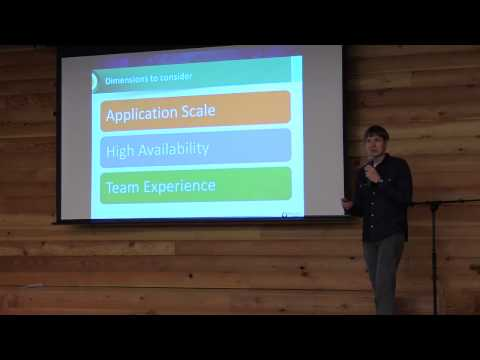 Database Architecture Patterns - Peter Zaitsev