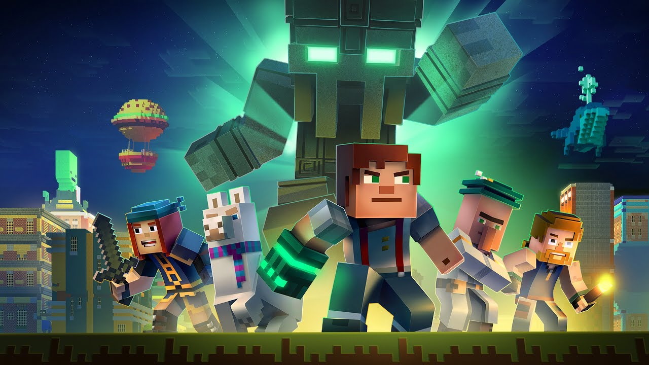 Minecraft Story Mode Season Two Official Trailer Youtube