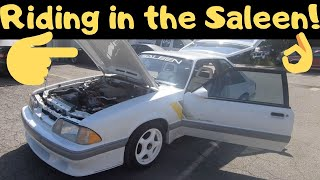 FoxBody Saleen SSC Mustang Ride Along *IS IT FAST?*