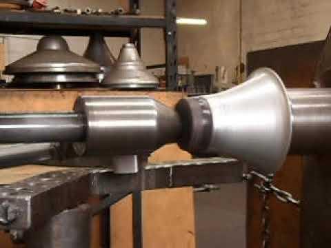 Metal Spinning Aluminium Vases Youtube