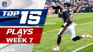 Top 15 Plays of Week 7 | NFL Highlights