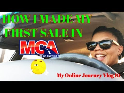 How I Made My First Sale 💸 In Motor Club of America MCA |👩🏽💻My Online Journey Vlog 10