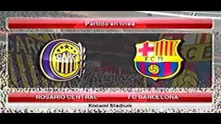Epico - Central contra Barcelona partida rapida online / pes 2014