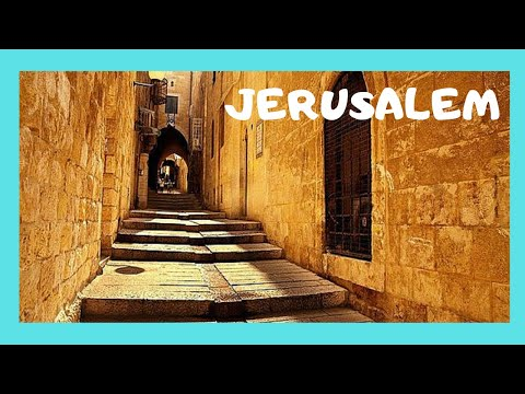 JERUSALEM, the OLD CITY, its BACKSTREETS, SOUKS and narrow ALLEYS (ISRAEL)