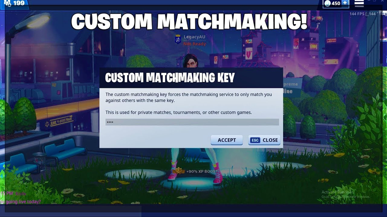 Code Is Yeet Fortnite Custom Matchmaking Playing With Subs Oce Scrims Vlsee
