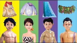 Wrong Dress Moana Elsa Sofia the First Shiva ANTV Maui Finger Family Song Nursery Rhymes for Kids